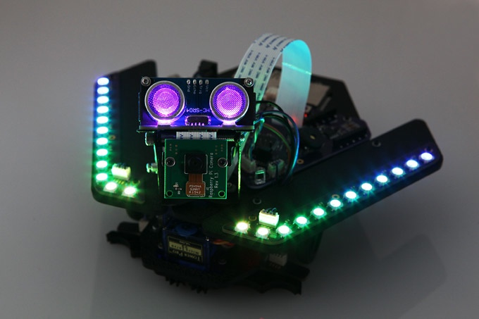 Spirit rover mars robot kit for raspberry pi the magpi