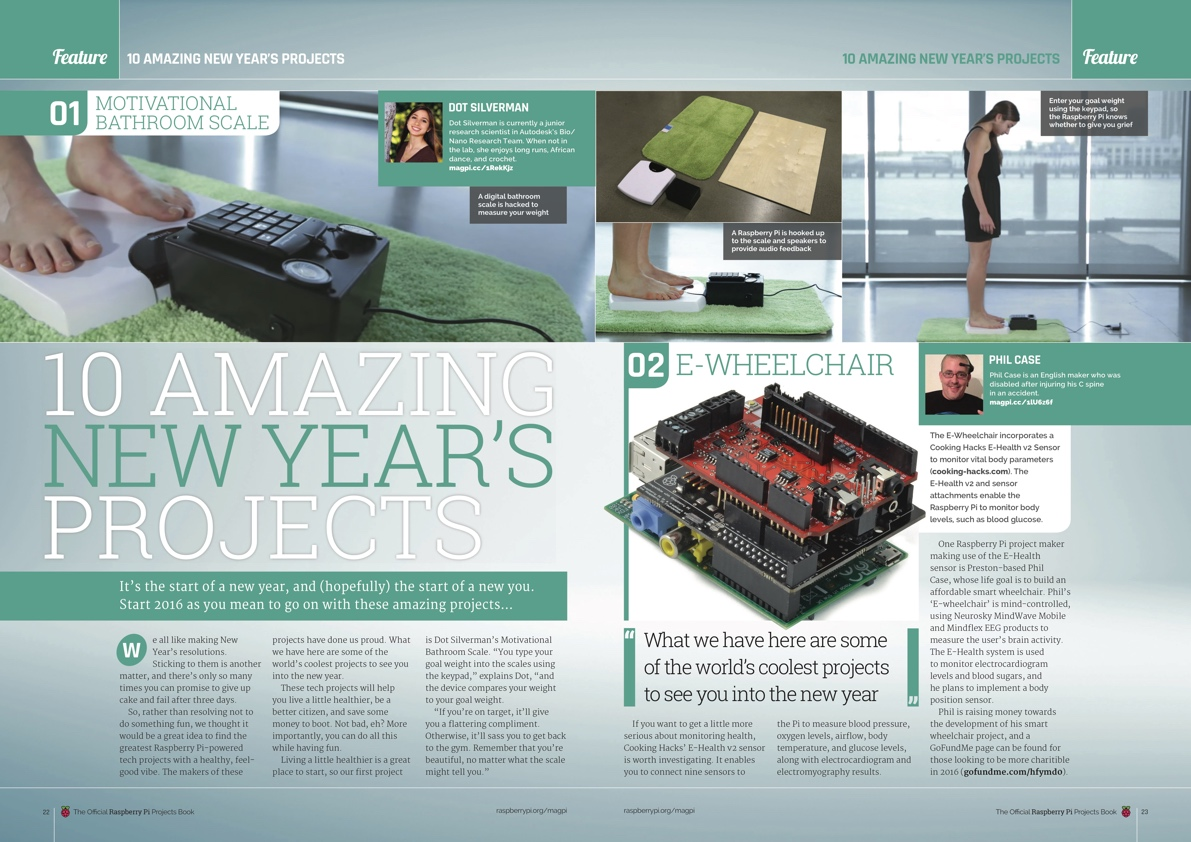 Raspberry Pi Official Projects Volume 2 New Year
