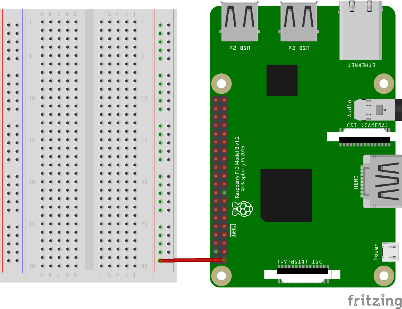 Breadboard Tutorial Learn Electronics With Raspberry Pi The Magpi Power Supply Kit 5v 33v Quickstart Guide Sparkfun Breadboards Ground Rail