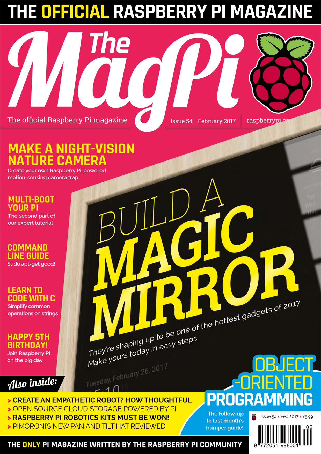 The MagPi Issue 54