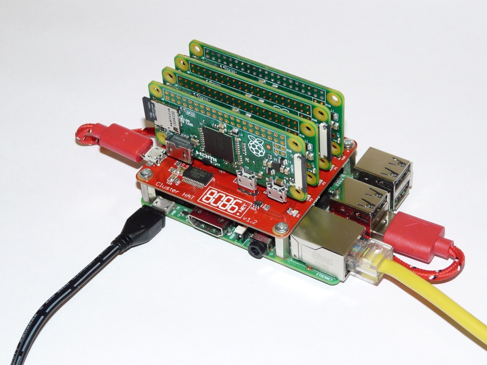 ClusterHAT review: Raspberry Pi cluster computer kit - The