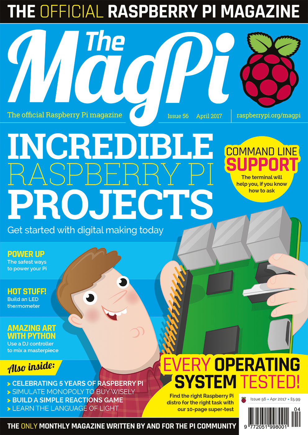 The MagPi Issue 56