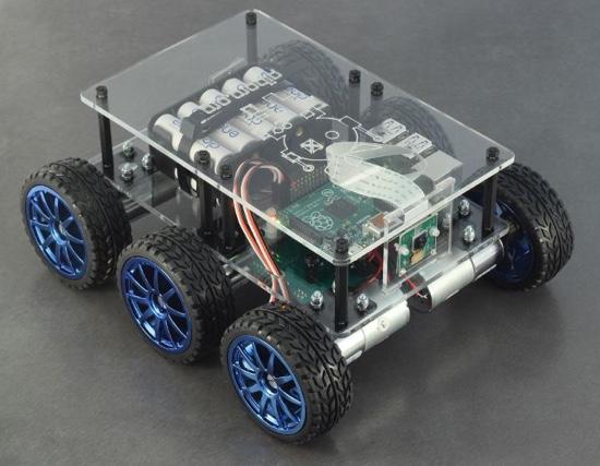 Best Raspberry Pi kits: DiddyiBorg