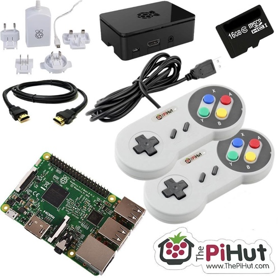 Best Raspberry Pi kits: retro gaming bundle