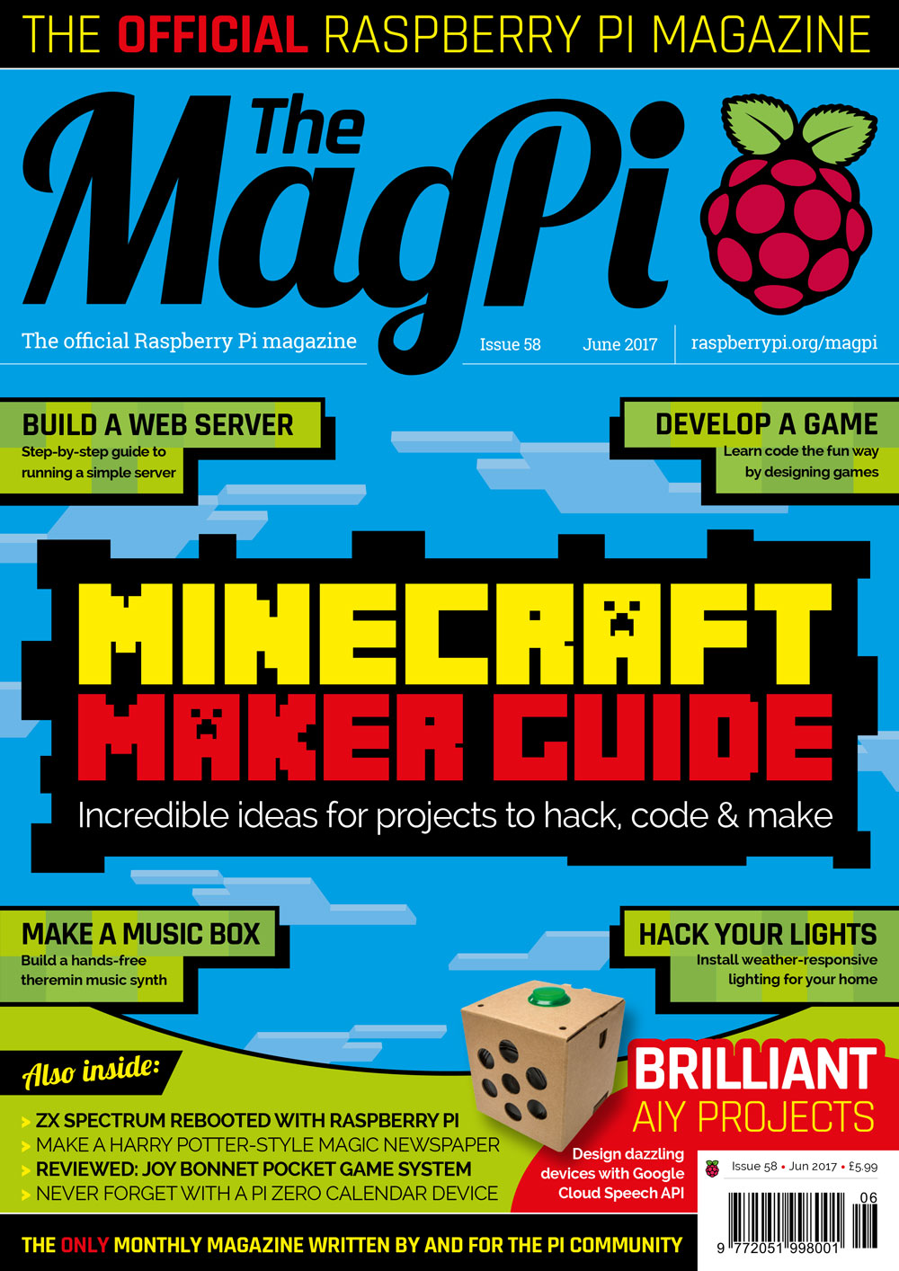 Issue 58 - The MagPi MagazineThe MagPi Magazine
