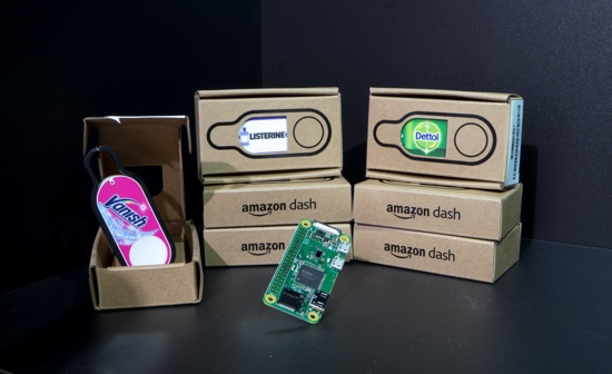 Hack Amazon Dash with Raspberry Pi and Python
