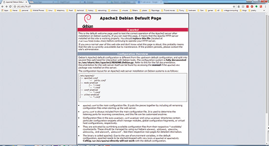 Apache web server: Build a local HTML server with a