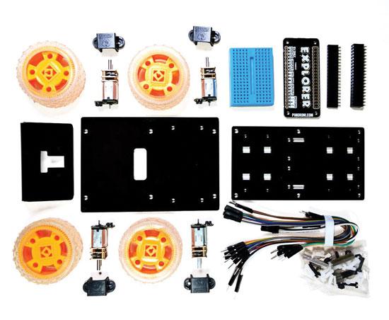 Tiny 4WD Robot Rover