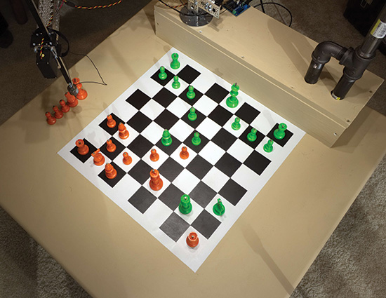 Raspberry Turk Chess Playing Robot