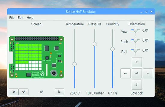 Sense HAT Emulator
