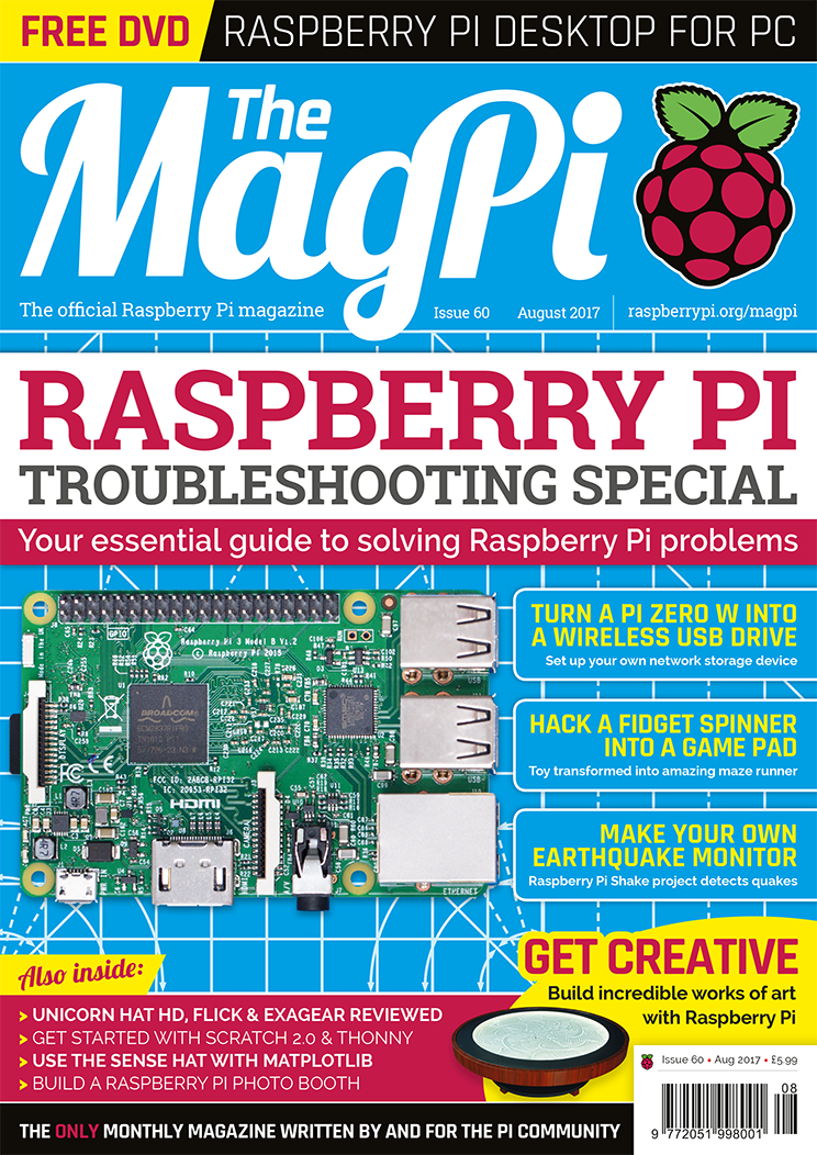 The MagPi Issue 60