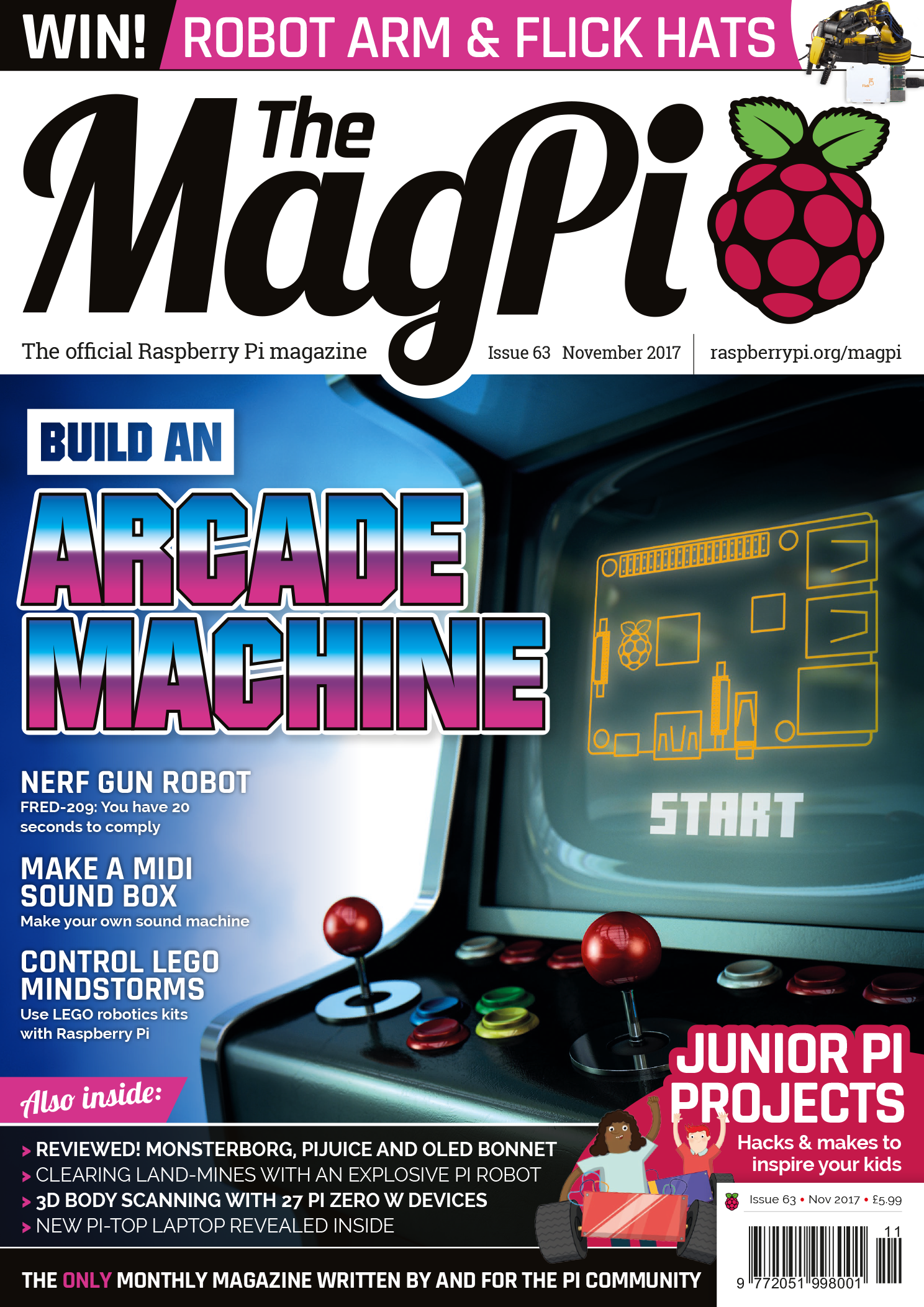 MagPi Issue 63