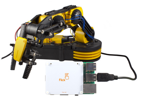 Win! Flick HATs and Robot Arm Kit - The MagPi MagazineThe MagPi Magazine
