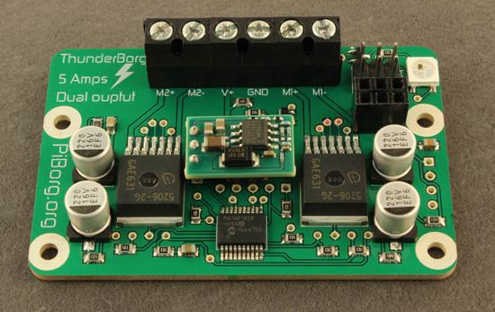 The ThunderBorg controller