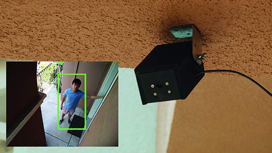 Smart Security Camera: CCTV with OpenCV face detection - The