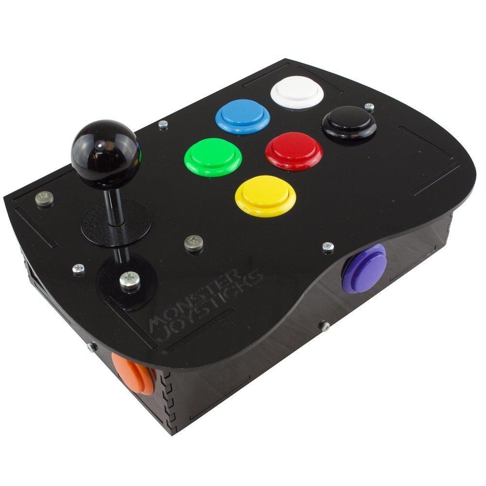 Monster Joysticks Deluxe Arcade Controller Kit review - The