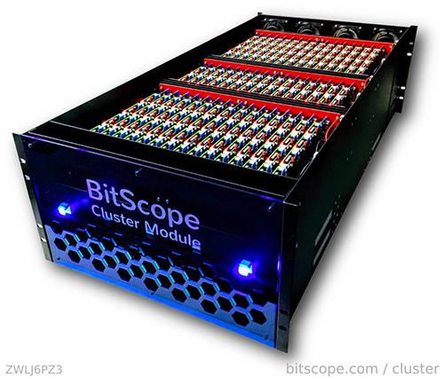 BitScope: 3000-core Raspberry Pi cluster computer - The