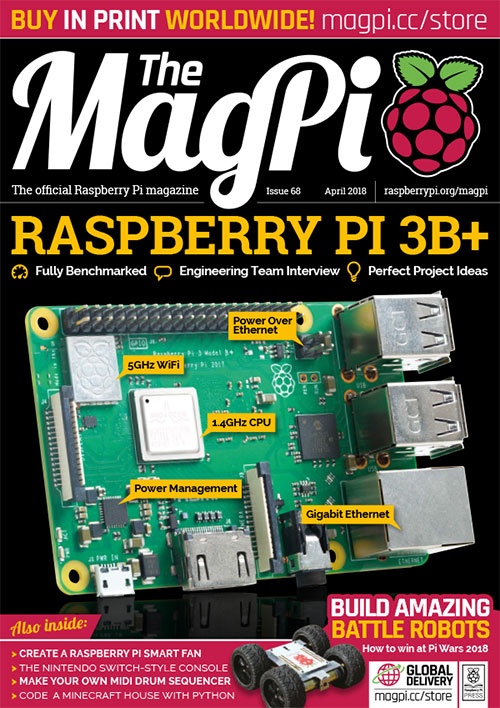 Issue 68 - The MagPi MagazineThe MagPi Magazine