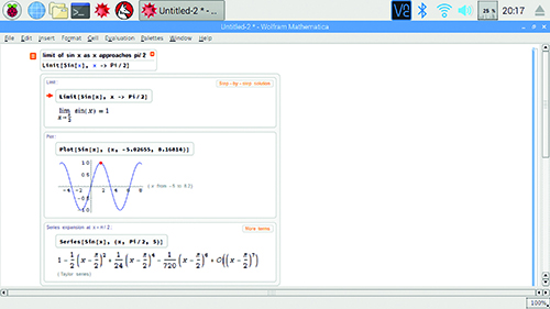 Use Wolfram Mathematica on Raspberry Pi - The MagPi