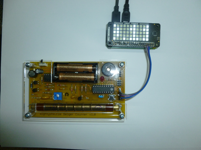 Simple Pi Geiger counter display - The MagPi MagazineThe MagPi Magazine