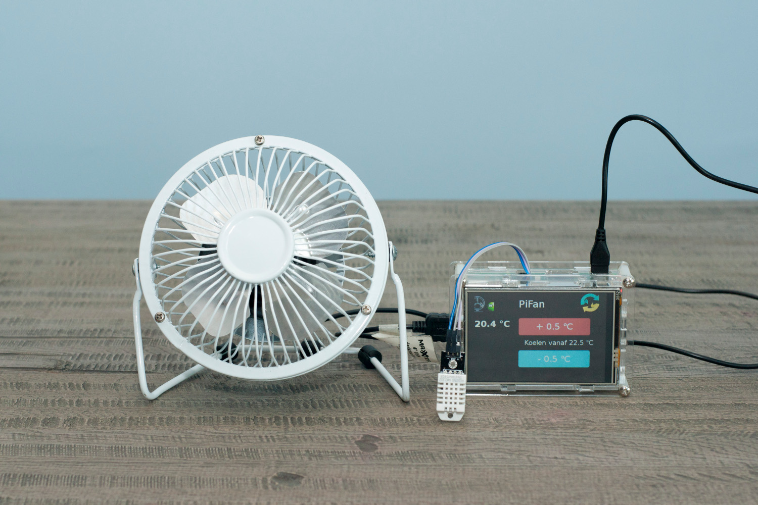 Keep cool with a Pi-powered fan - The MagPi MagazineThe MagPi Magazine