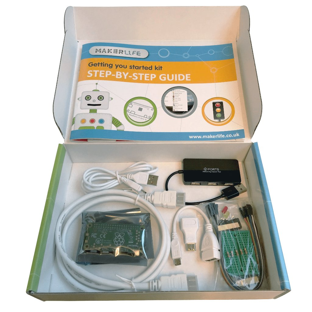 Getting You Started Kit With Raspberry Pi Zero W Review The Magpi Electronic Circuit Kits For Adults Uk Maker Lifes Range Of Electronics Aim To Provide A Plug And Play Learning Experience No Need Soldering Such Is Case This Starter