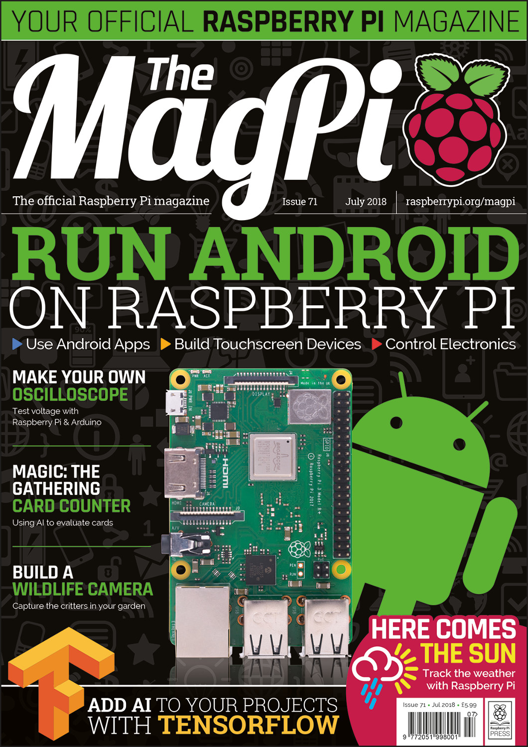 Back Issues Books The Magpi Magazinethe Magazine Electronics Projects April 2013 Download Free