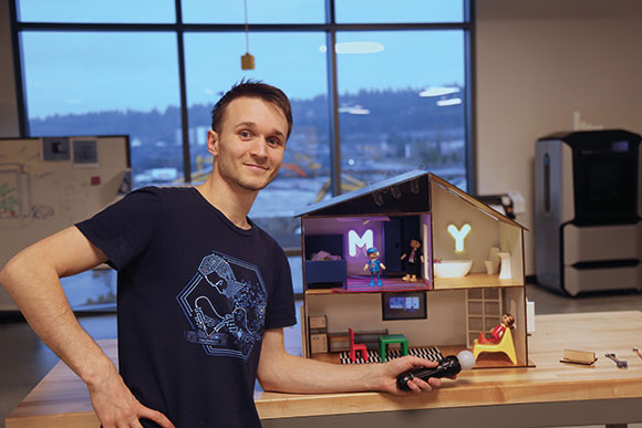 MYHouse: Smart IoT doll's house