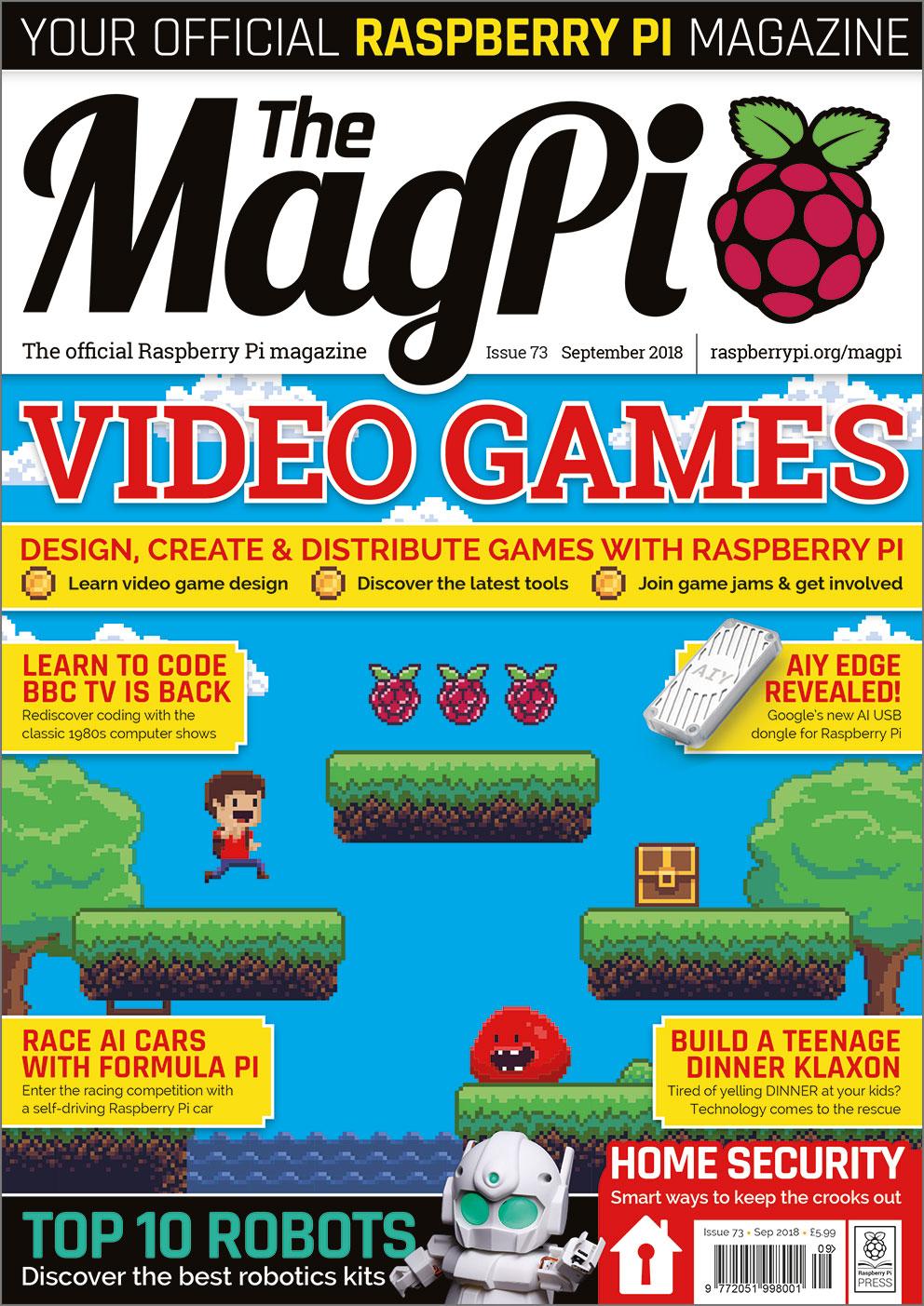 issue 73 the magpi magazinethe magpi magazine