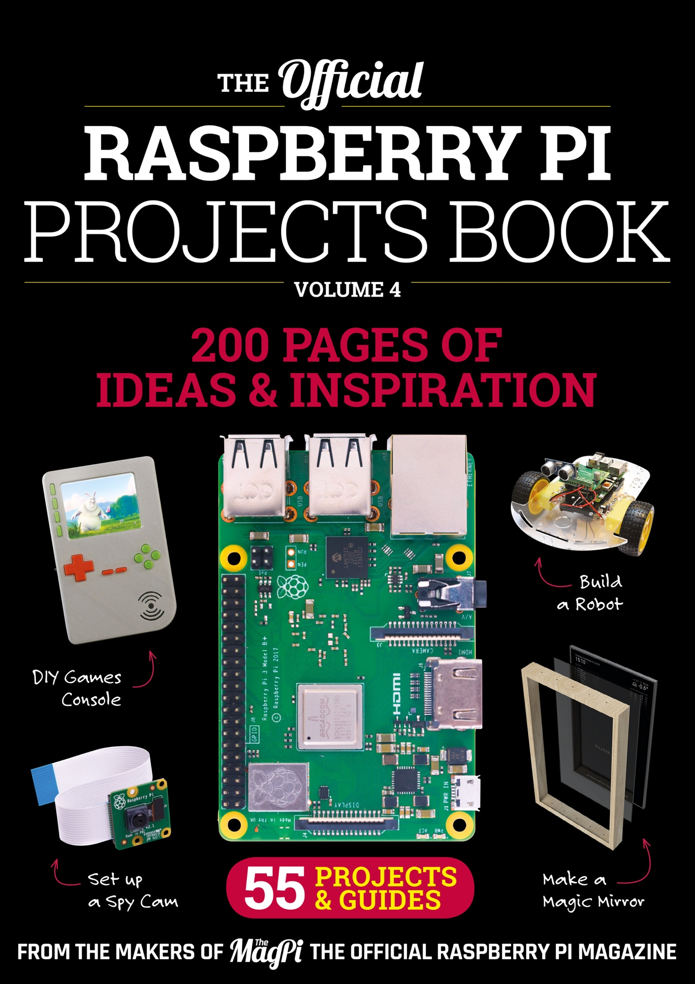 Projects Book 4 - The MagPi MagazineThe MagPi Magazine