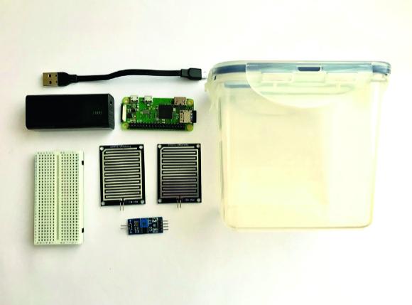 Rain Detector parts