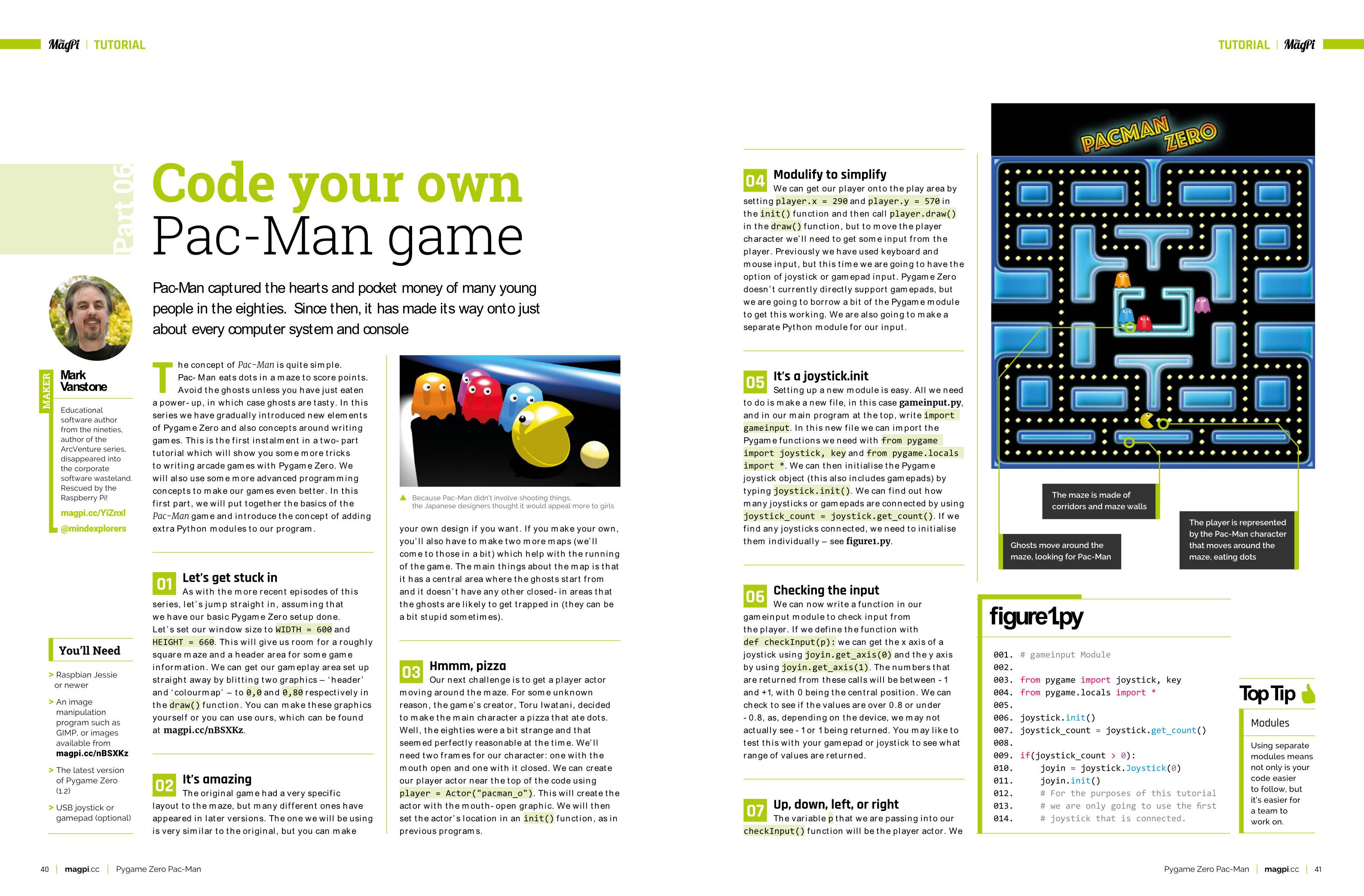 Code Pac-Man