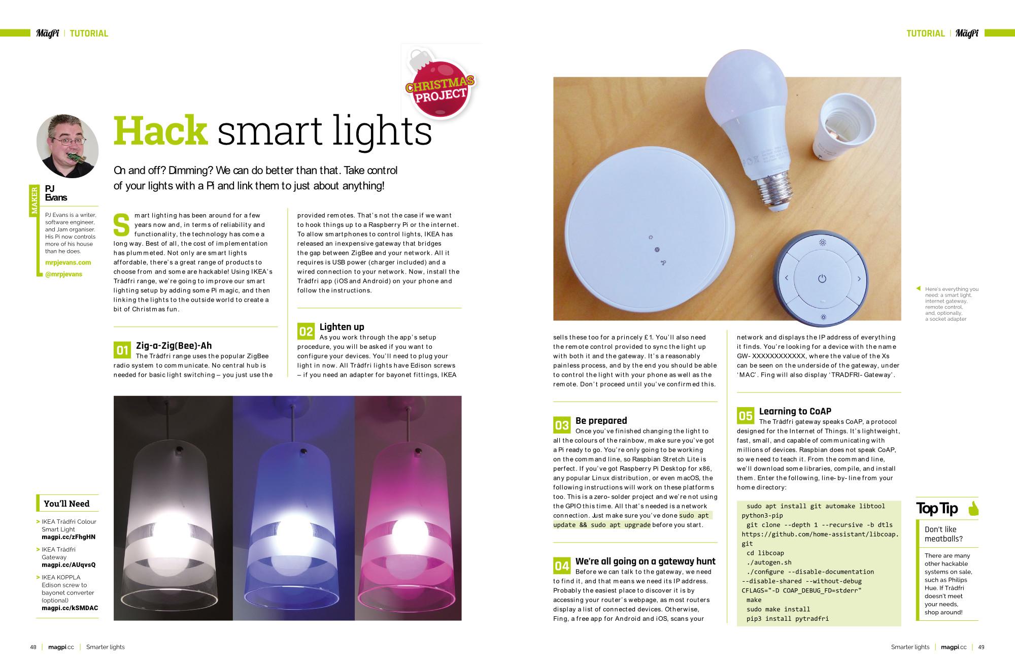Hack Smart Lights
