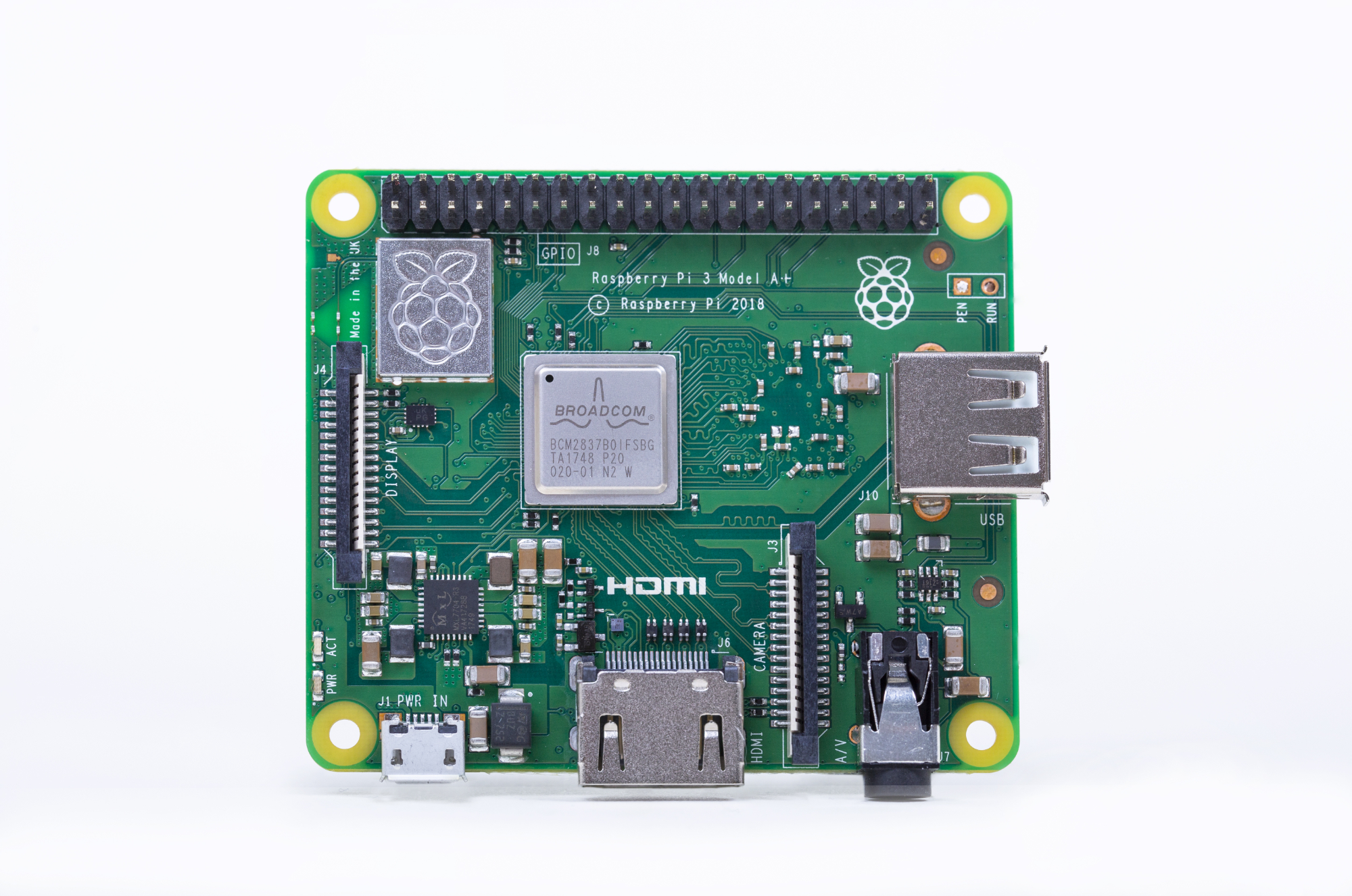 Raspberry Pi 4, 3A+, Zero W - specs, benchmarks & thermal