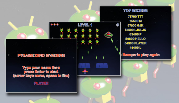 Pygame Zero: Space Invaders II - The MagPi MagazineThe MagPi