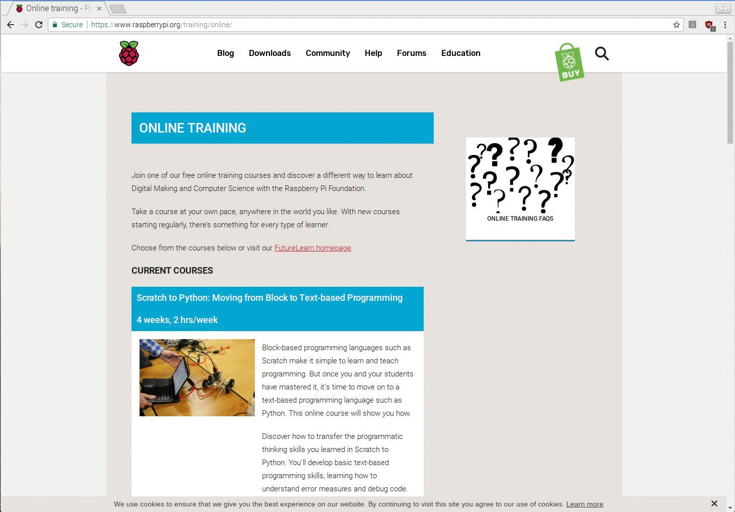 Raspberry Pi Futurelearn