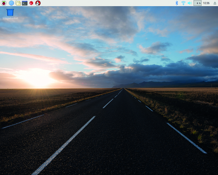 The Raspbian Desktop