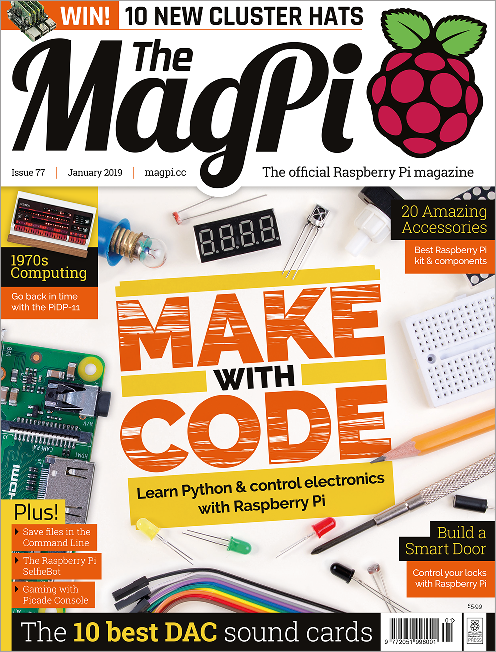 The Magpi Magazine Official Raspberry Pi Magazinethe Ultimate Monthly Circuit Building Kit Latest Release
