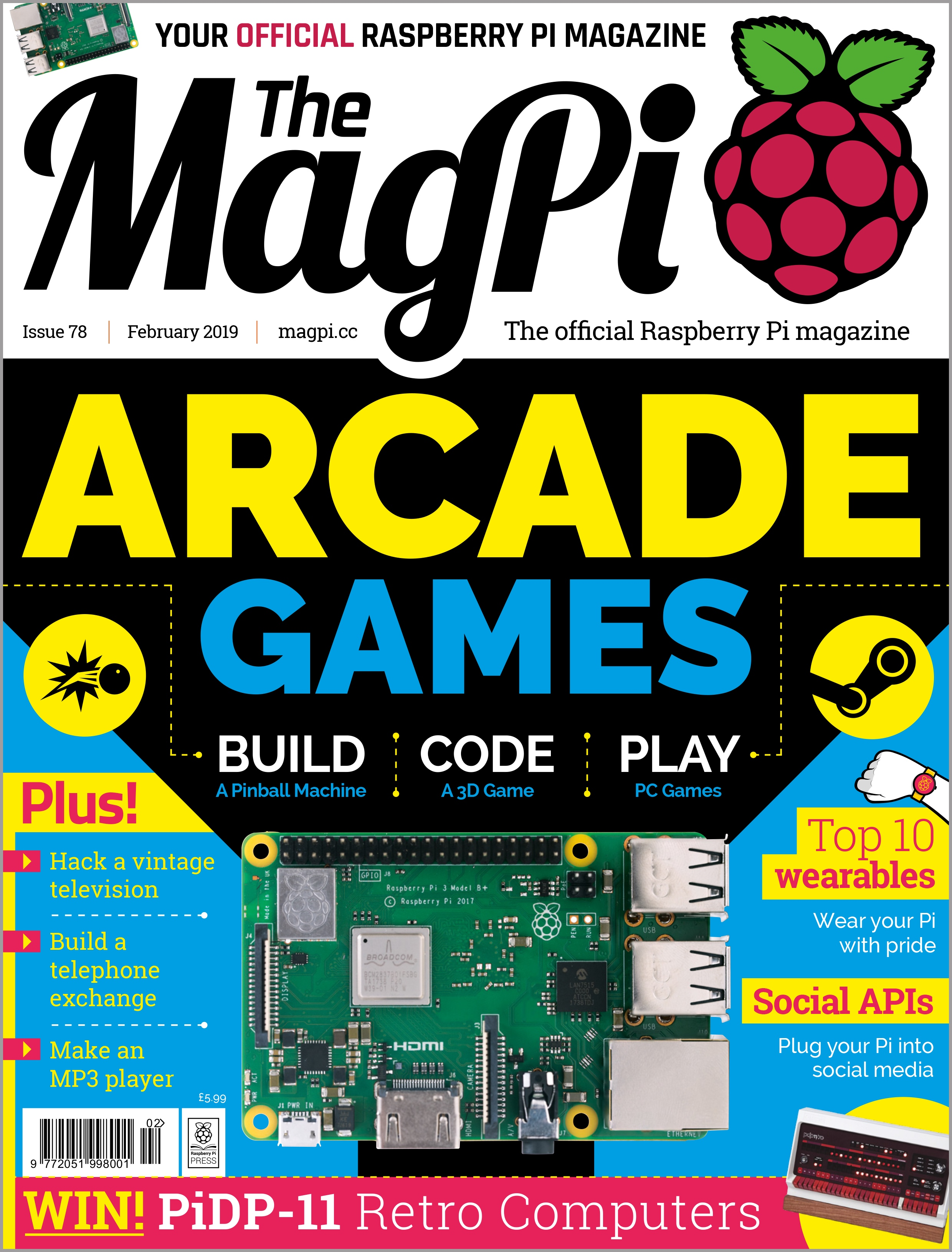 Issue 78 - The MagPi MagazineThe MagPi Magazine