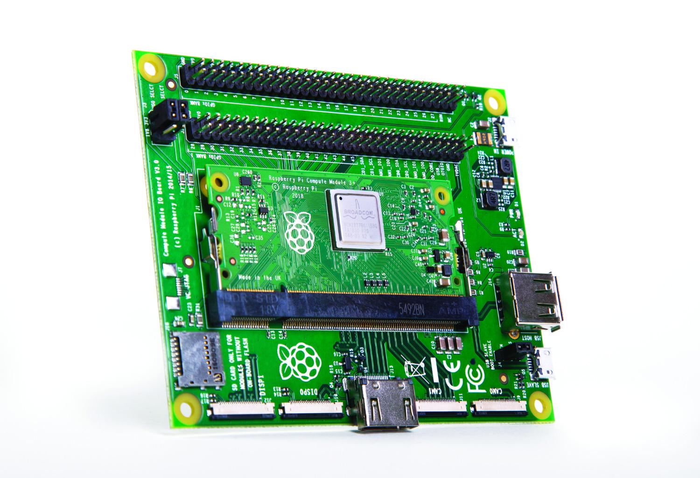 Compute Module 3+ in I/O board