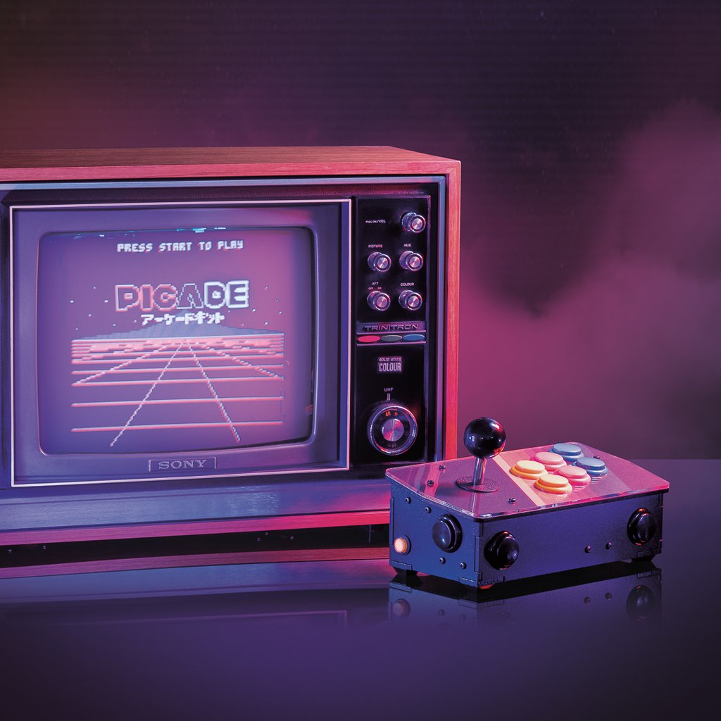 Retro gaming galore: Picade Console reviewed - The MagPi Magazine