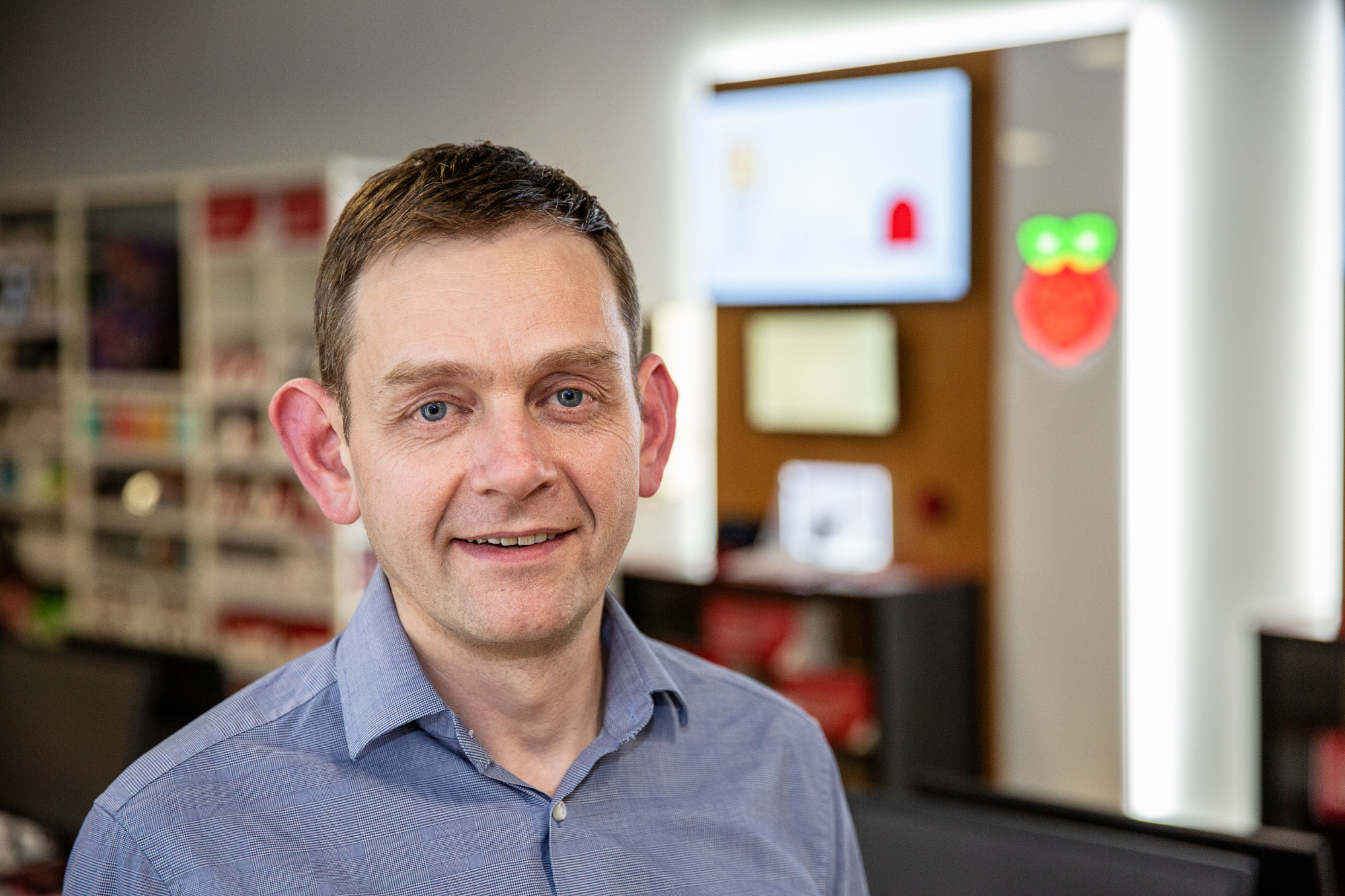 Raspberry Pi Retail Store Gordon Hollingworth