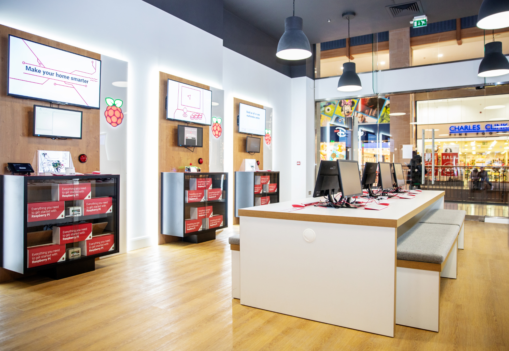 Raspberry Pi Retail Store Inside