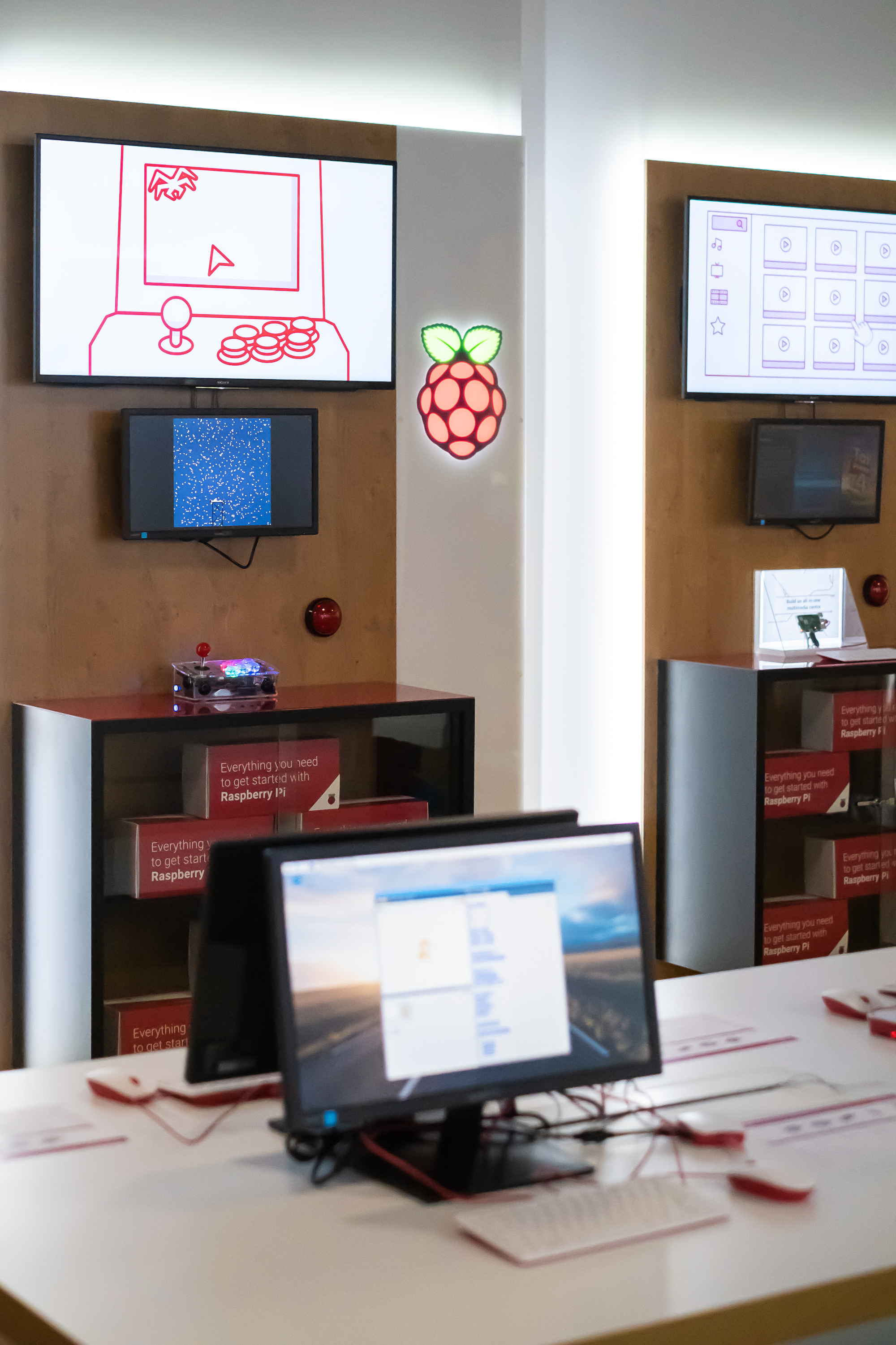 Raspberry Pi Retail Store Project Booths