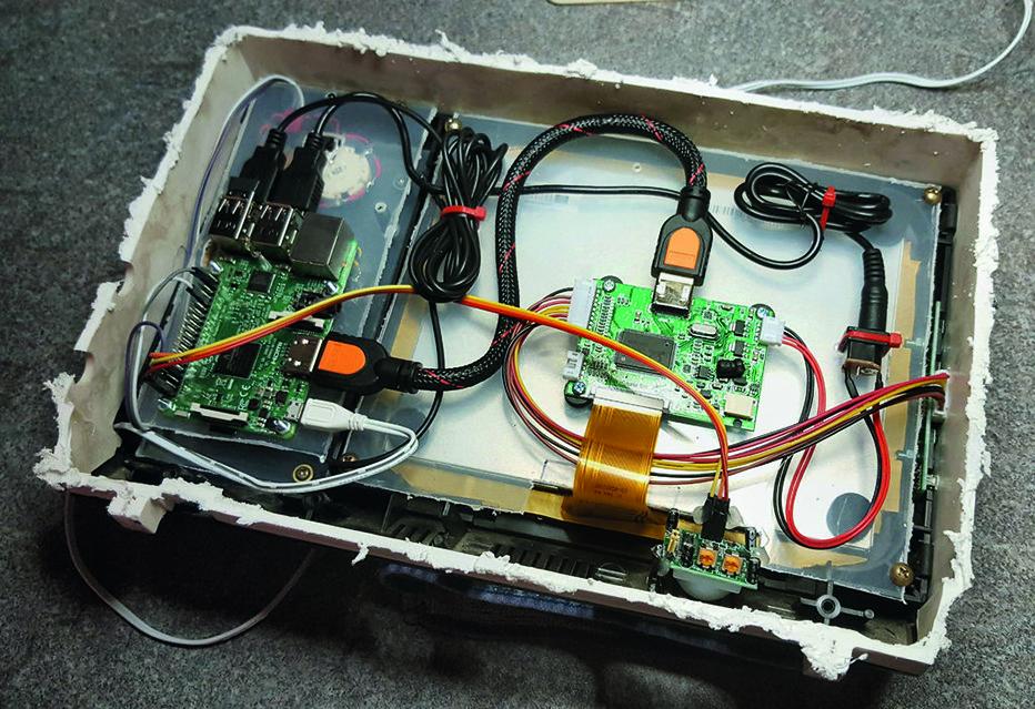Vintage TV components
