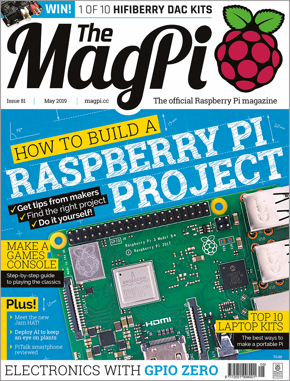 Issue 81 - The MagPi Magazine