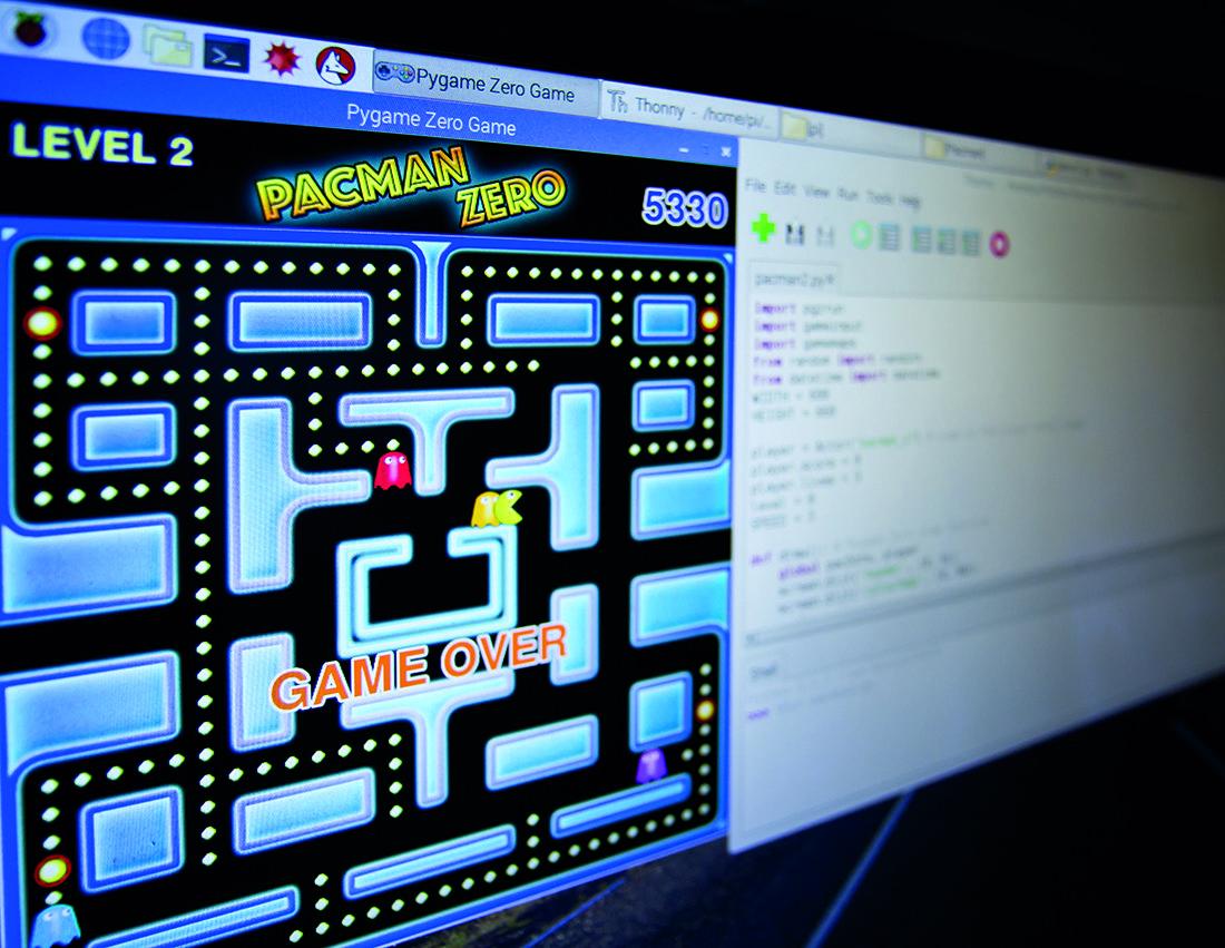 Pacman Screen