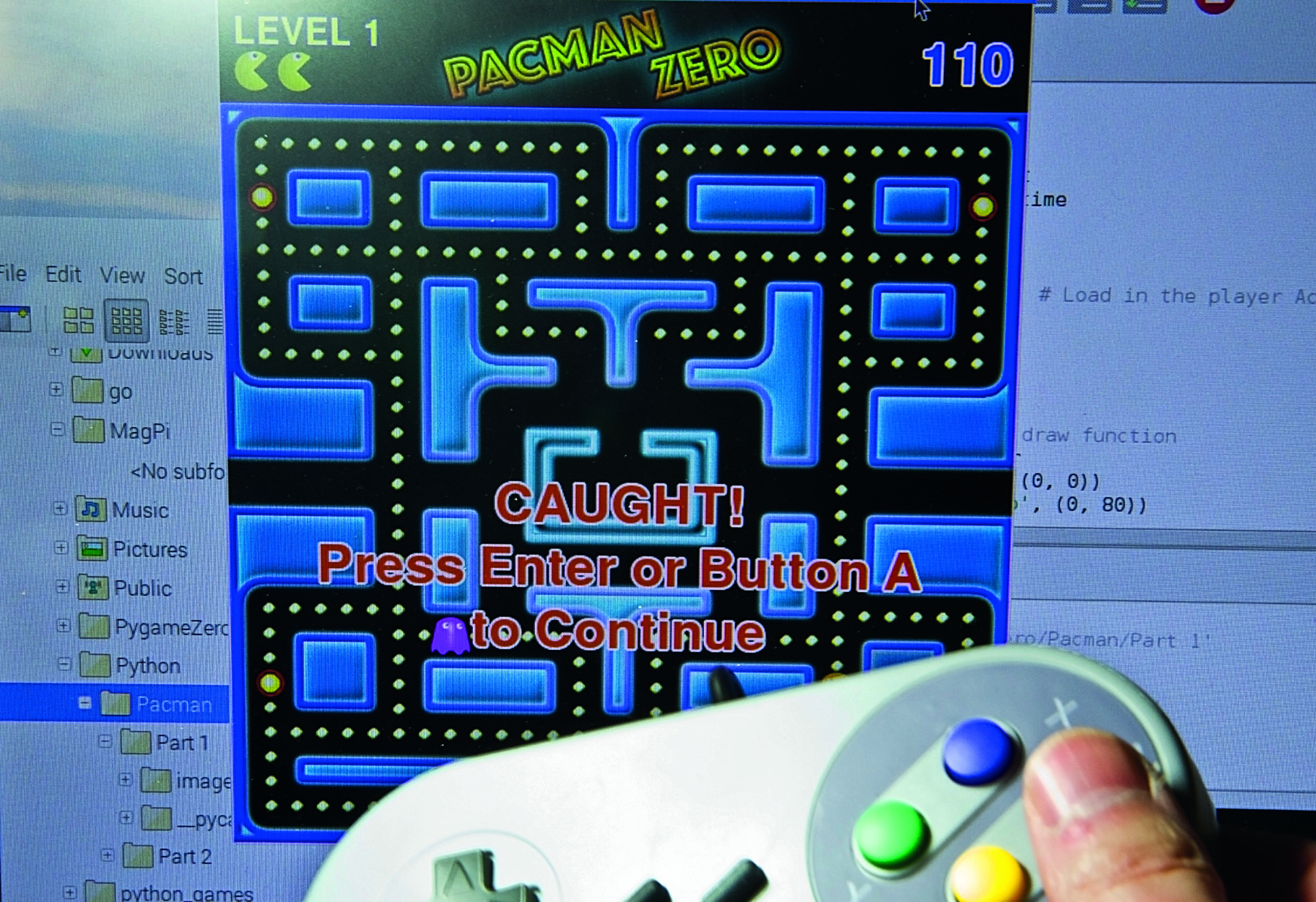 Code Pac-Man in Python (part 2) - The MagPi MagazineThe MagPi Magazine