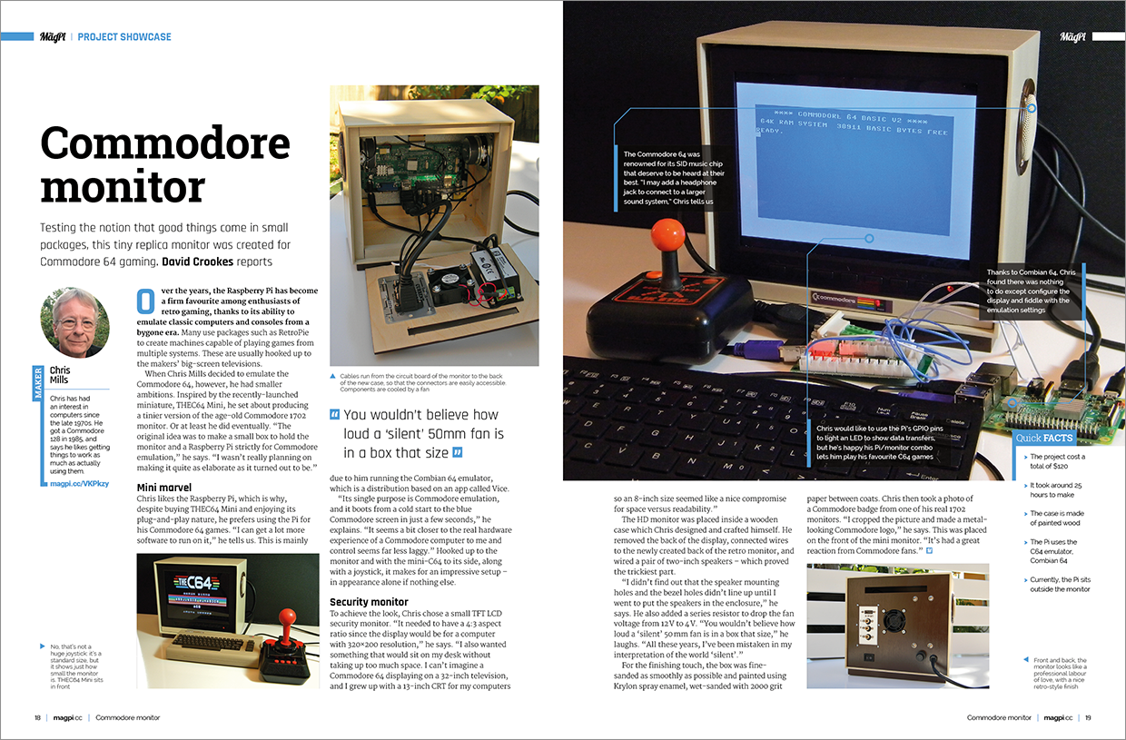 Build a Raspberry Pi Project in The MagPi 81 - The MagPi MagazineThe