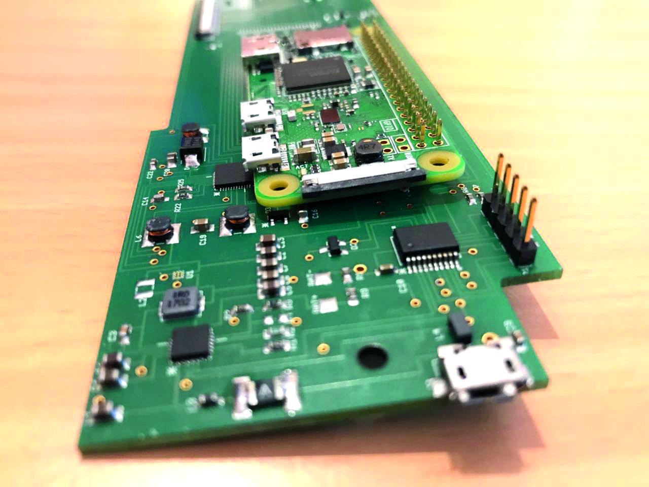 Thync printed circuit board